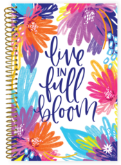 2020-2021 Soft Cover Planner Live In Full Bloom