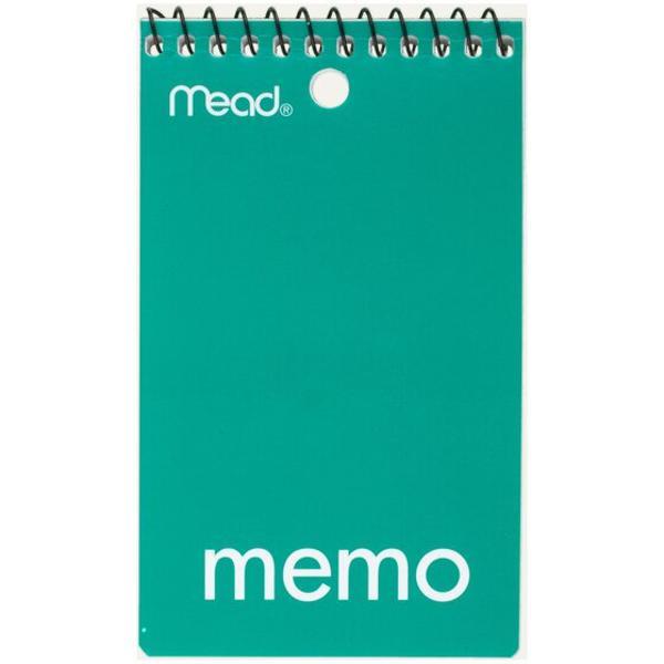 Mead Memo Book
