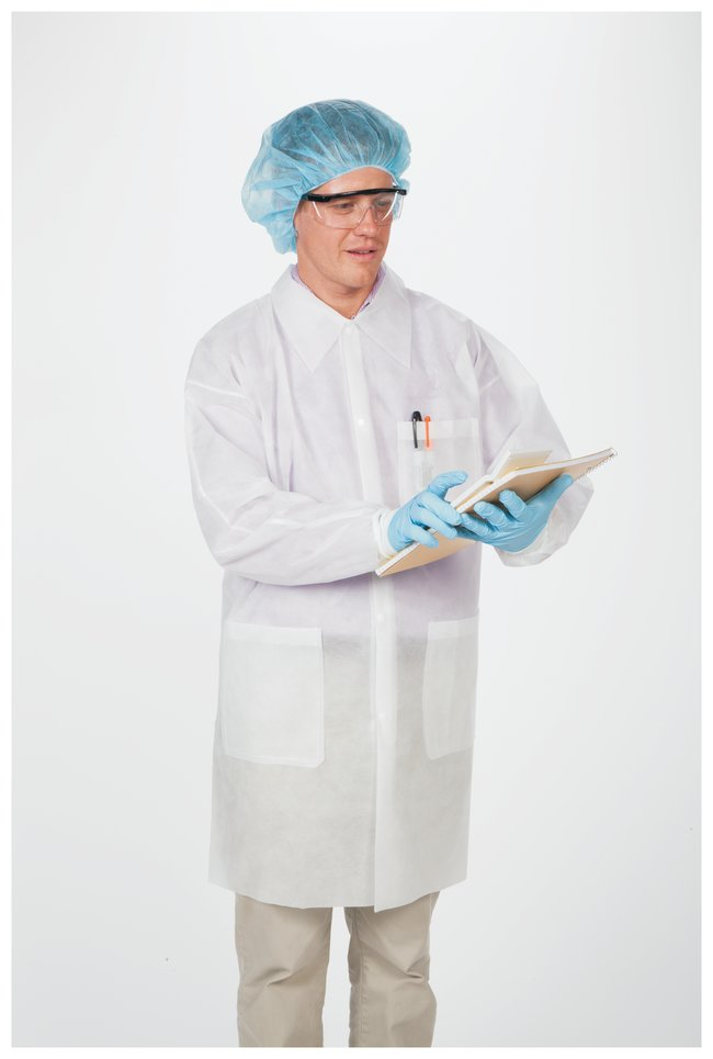 image of: White Lab Coat