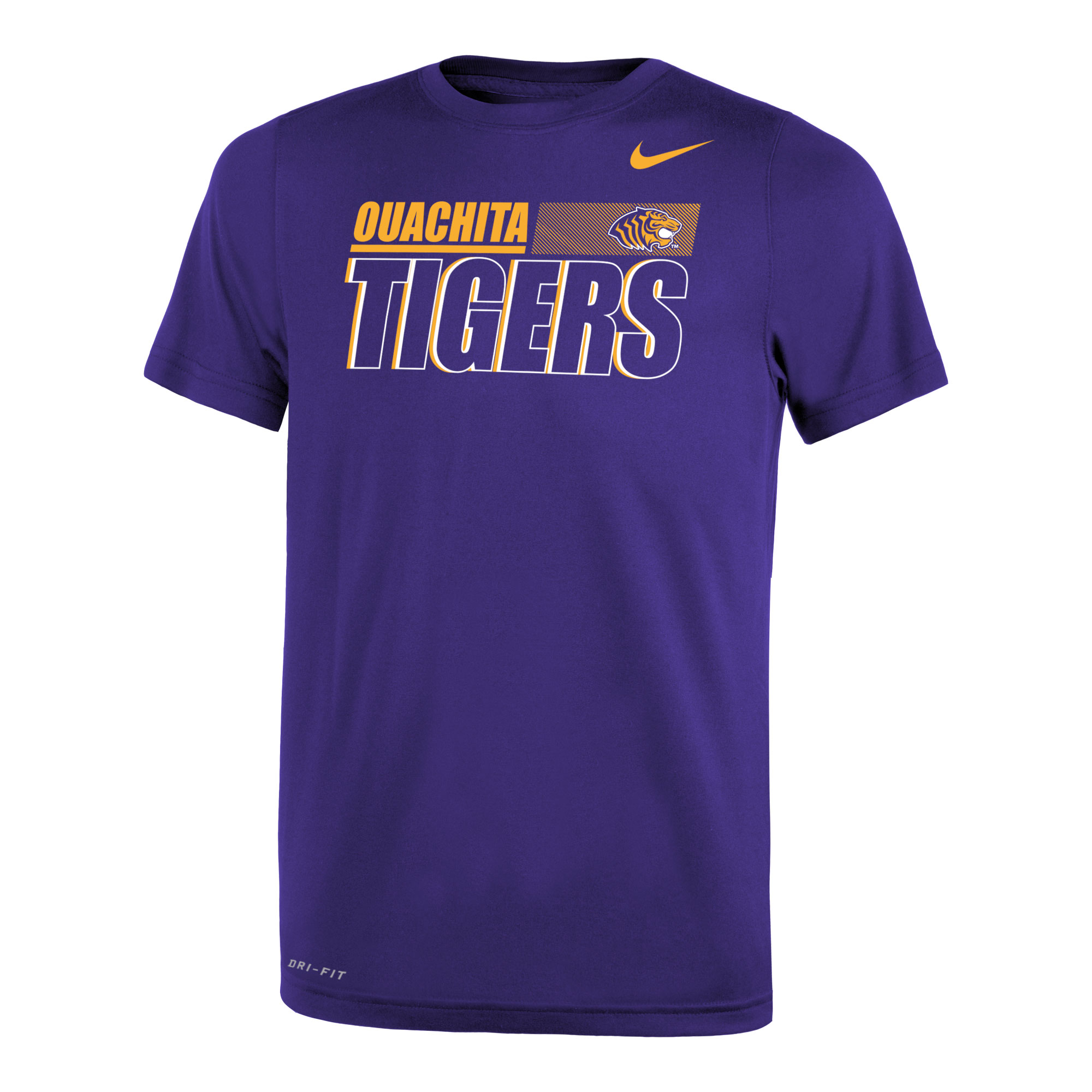 OUACHITA TIGERS NIKE LEGEND YOUTH SS TEE