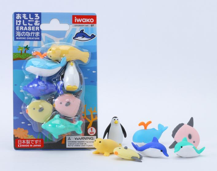 BCMini Iwako Sea World Eraser