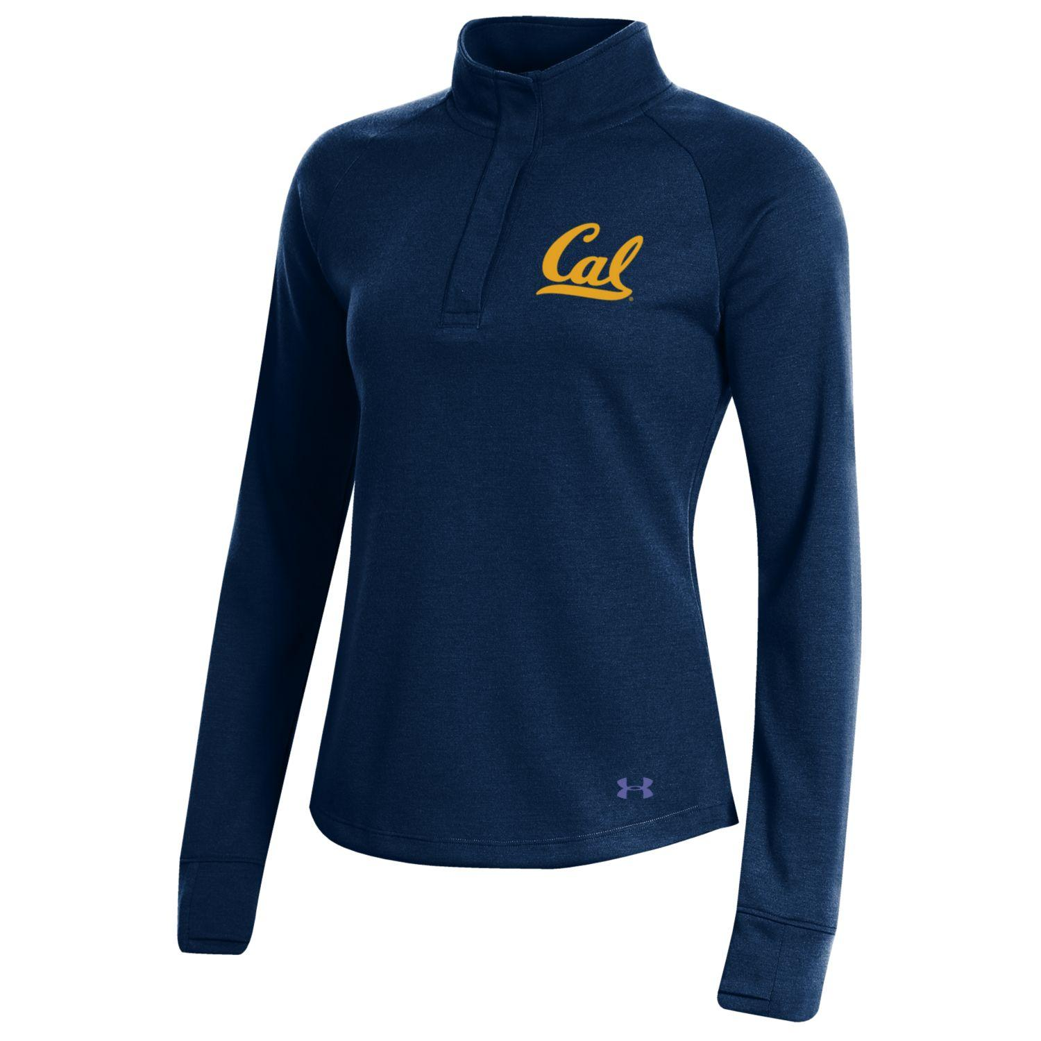 UA W Double Knit 1/4 Snap 'Cal'
