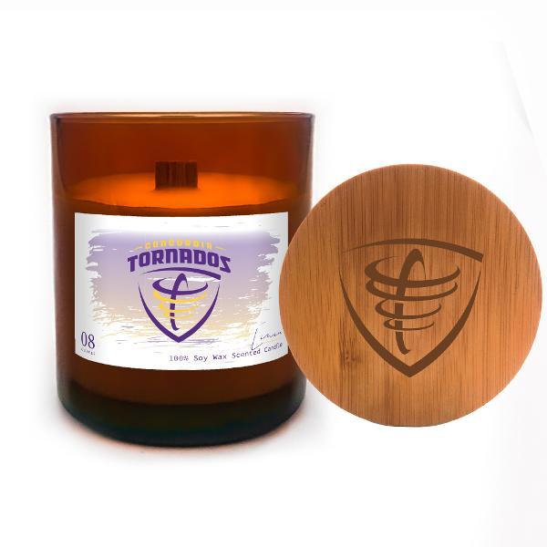 Lavender Linen Candle