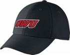 Image for the Unisex Black Swoosh Flex Hat product