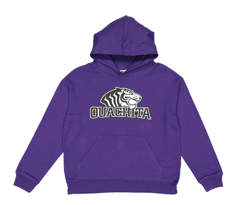 image of: OUACHITA LOGO YOUTH HOOD