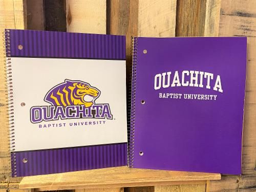 OUACHITA BAPTIST UNIVERSITY ONE SUBJECT NOTEBOOK - ASSORTED