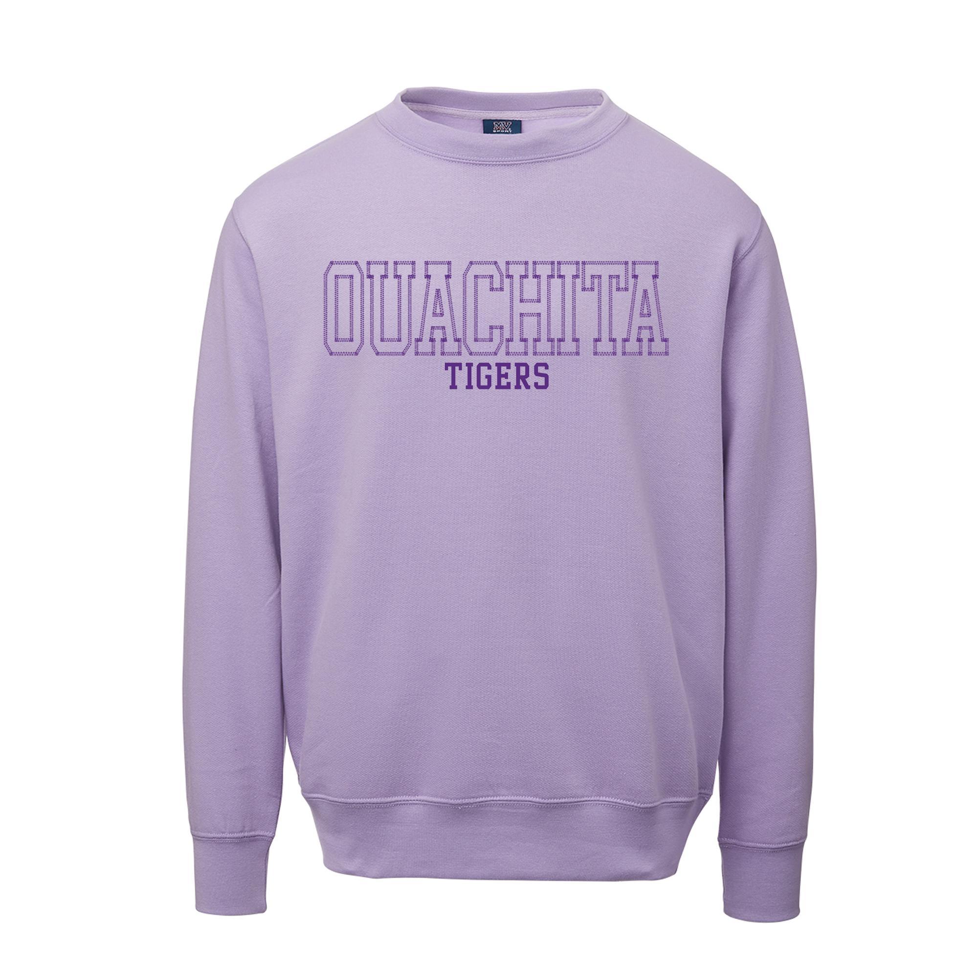 image of: Ouachita Tigers Fundamental Fleece Crew