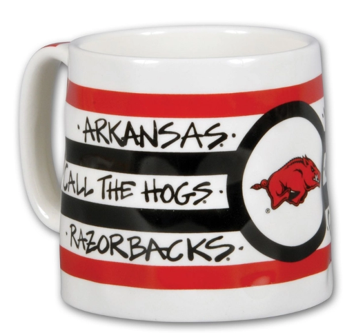 Arkansas Razorbacks Never Yield Magnolia Lane 16 oz. Mug