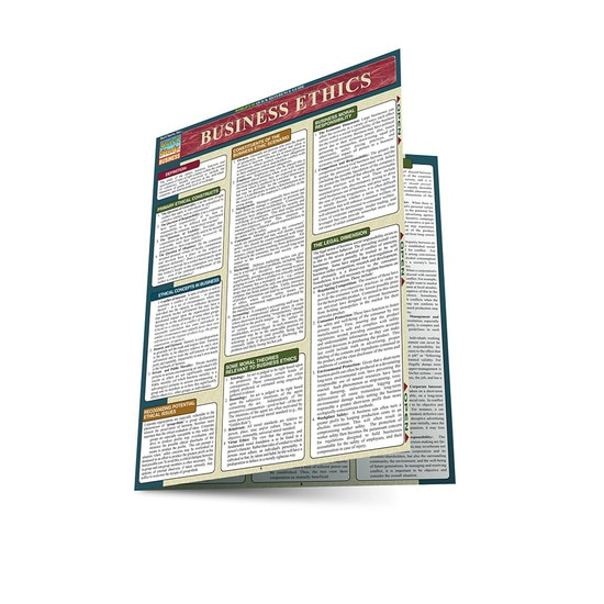 BUSINESS ETHICS LAMINATED STUDY GUIDE