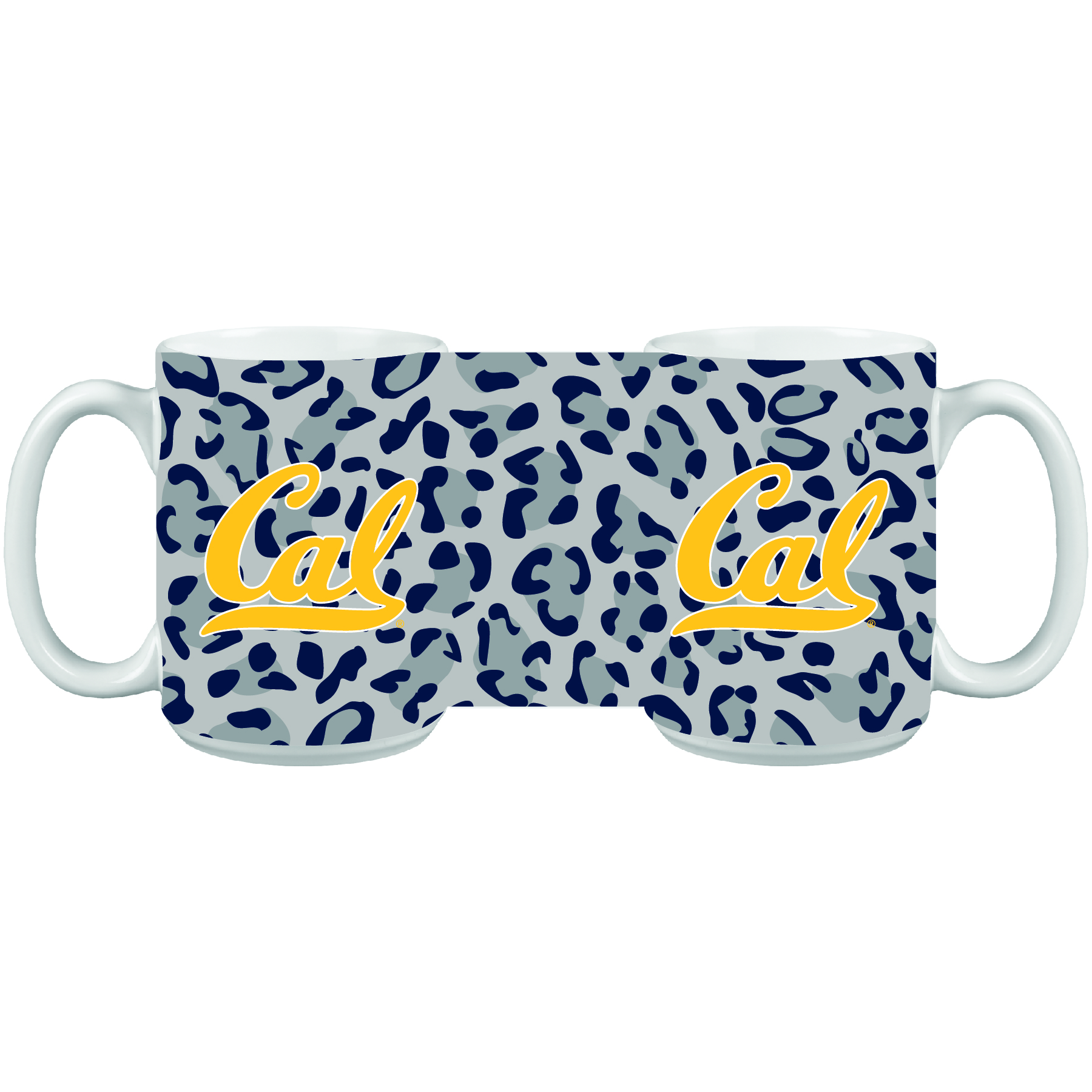 Mug 15oz Impact Cal Logo Leopard Print