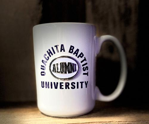OUACHITA BAPTIST UNIVERSITY ALUMNI 15OZ MUG