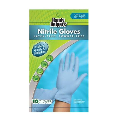 Nitrile Gloves- One Size 884389145329