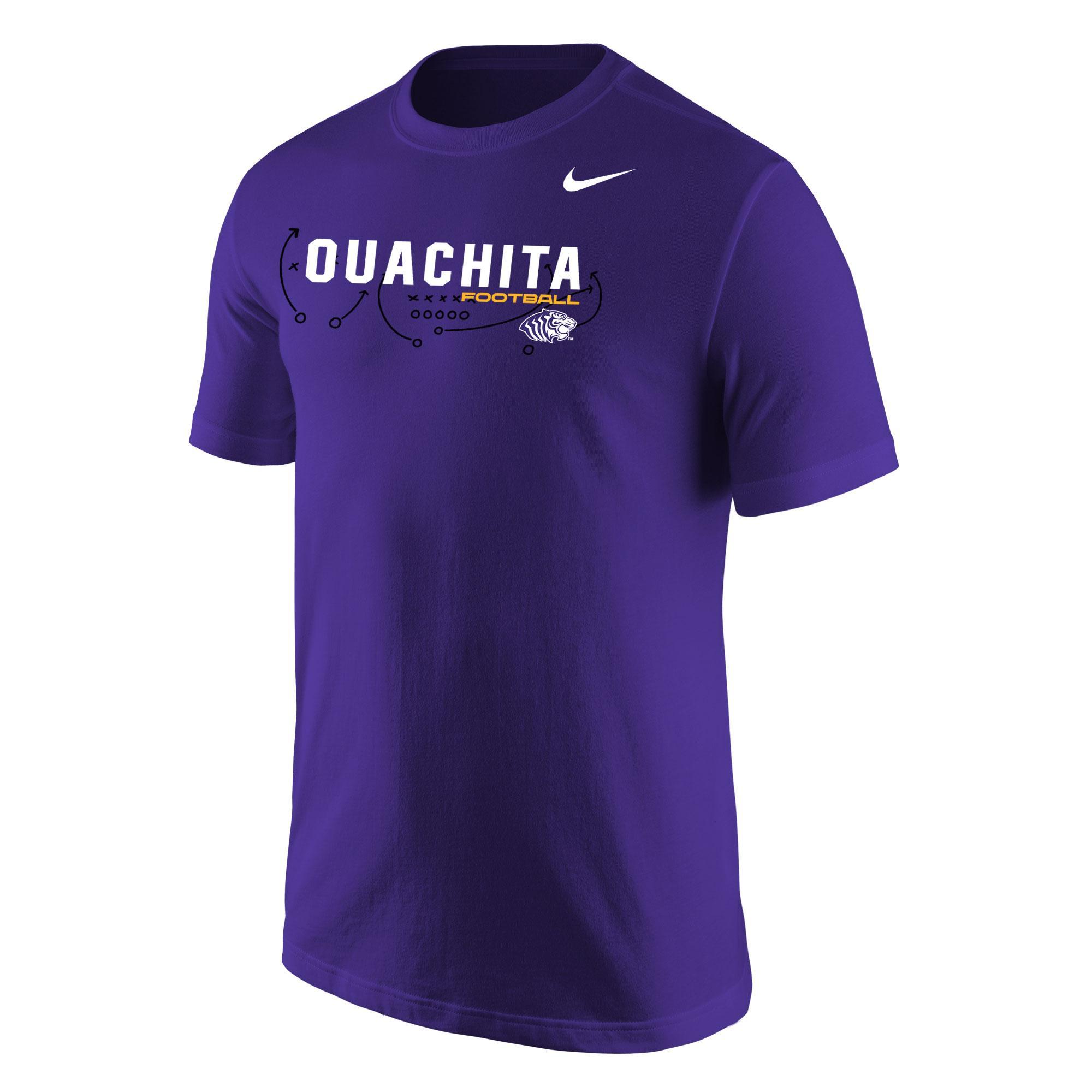 image of: Ouachita Football Play Core SS Tee