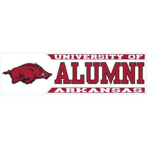 Arkansas Razorbacks Wincraft University of Arkansas Alumni Decal - Crimson