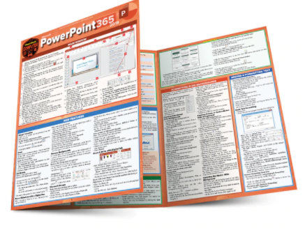 Cover image for MICROSOFT POWERPOINT 365:2019 LAMINATED STUDY GUIDE
