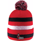 Image for the Striped Pom Knit Beanie product