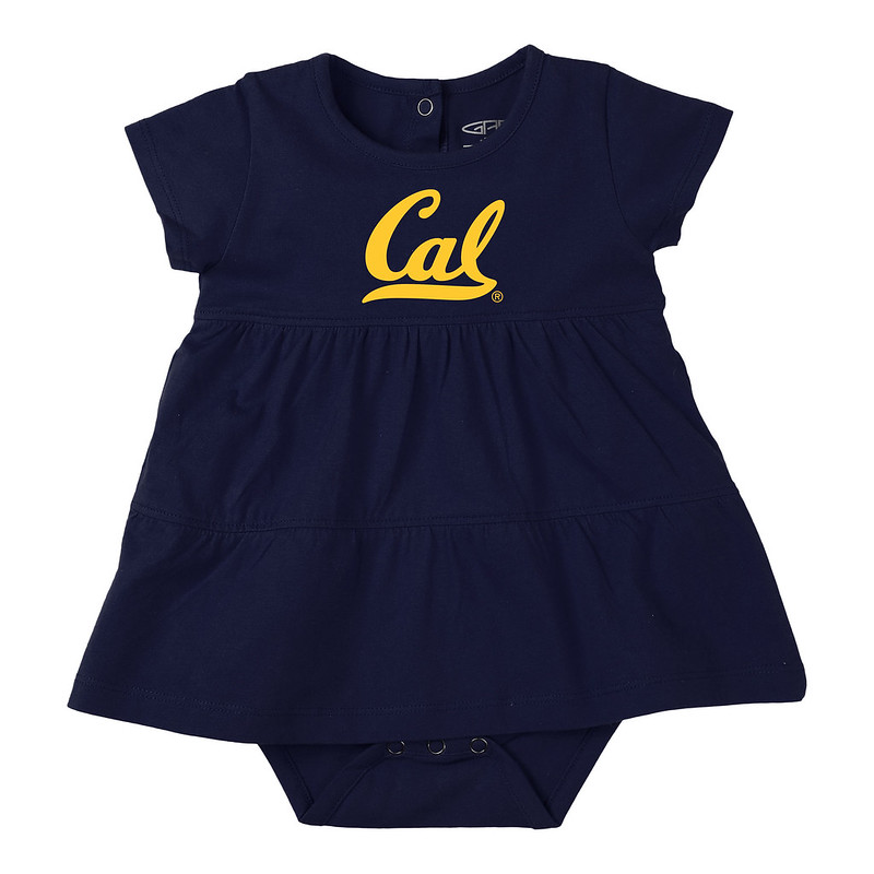 image of: Infant G Fia Solid Tiered Onsie Dress