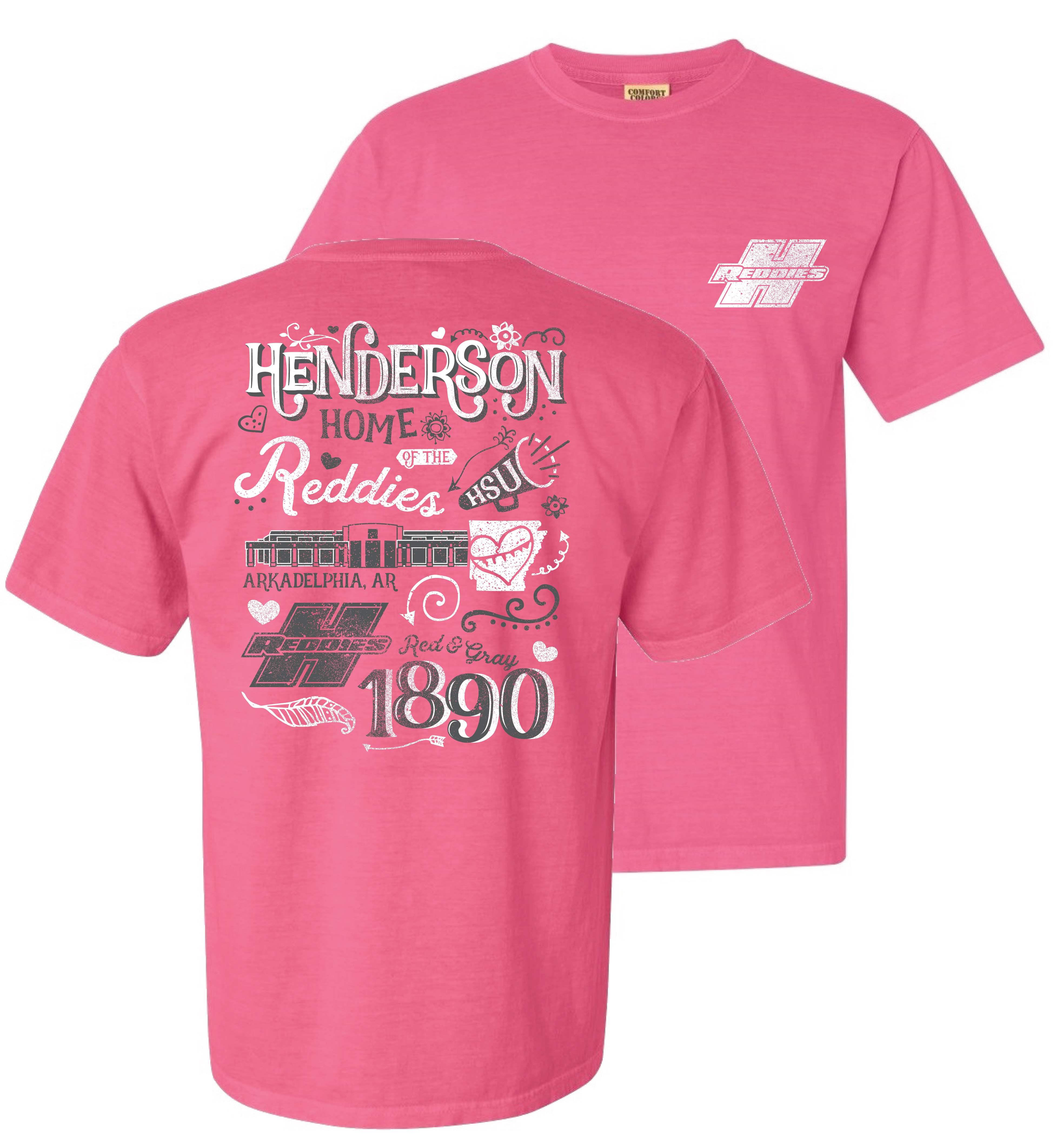 image of: Reddies Comfort Color Crew Neck Short Sleeve T-Shirt