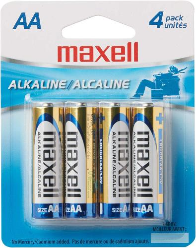 Maxell Batteries - 4pk