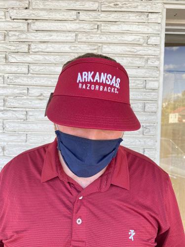 Arkansas Razorbacks Visor - Cardinal
