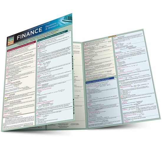 FINANCE EQUATIONS AND ANSWERS LAMINATED STUDY GUIDE