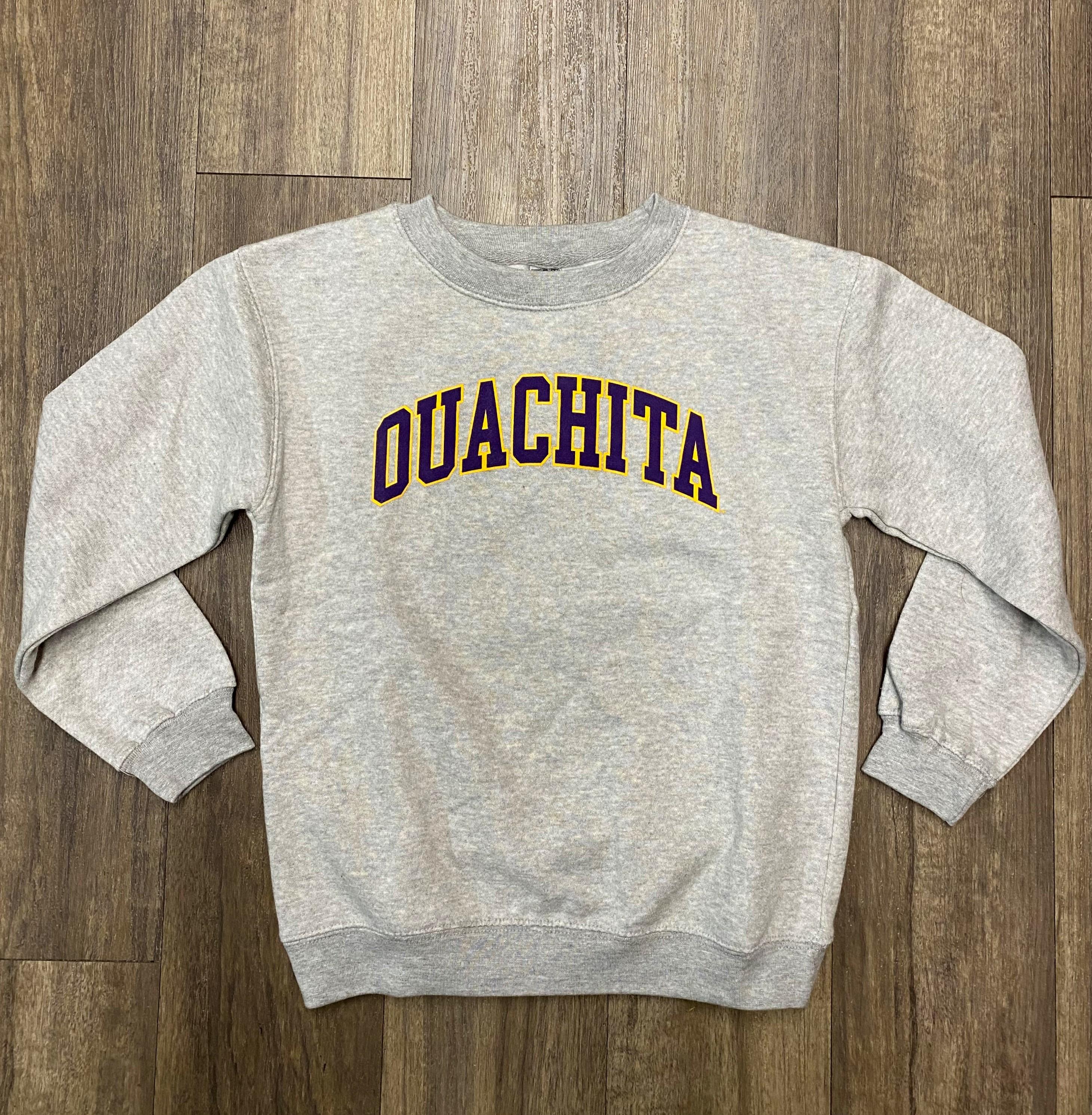 image of: YOUTH OUACHITA CREW SWEATSHIRT