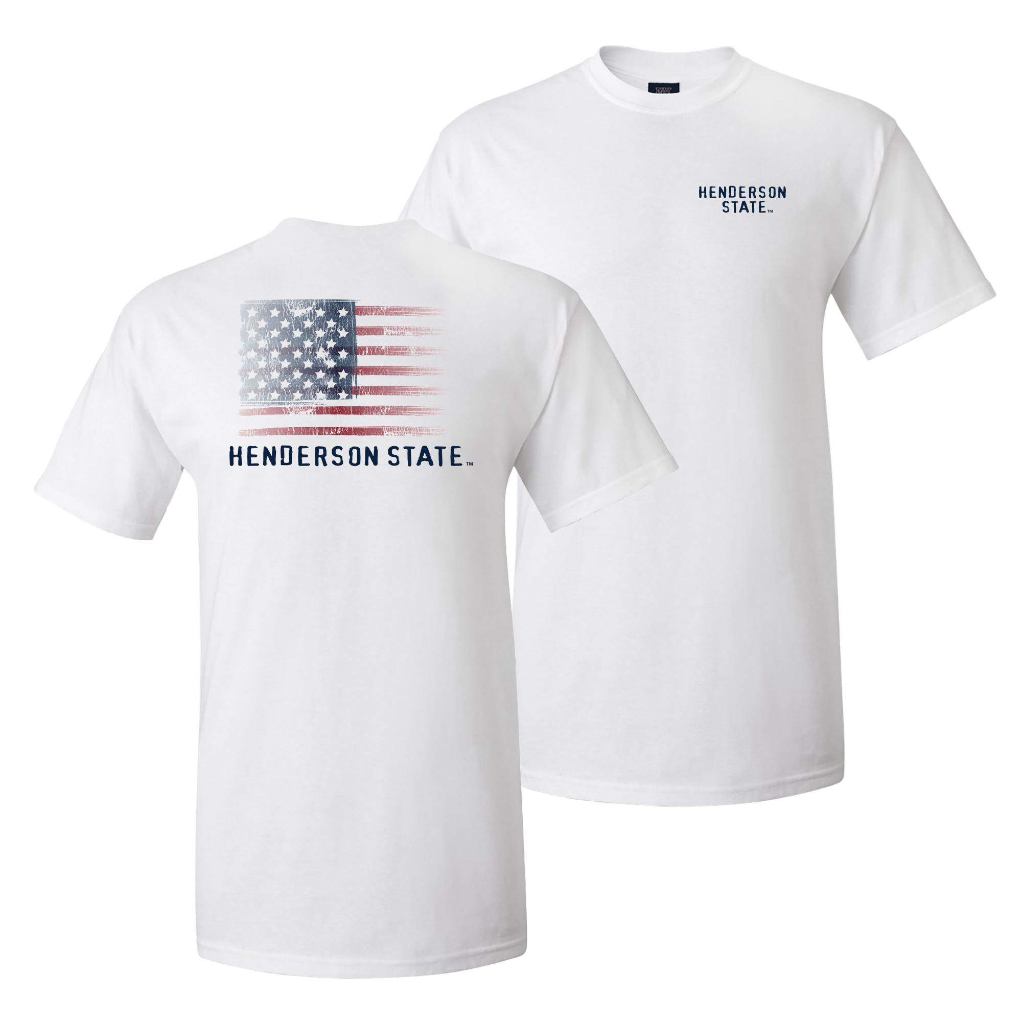 image of: Henderson State Flag Classic Short Sleeve T-Shirt