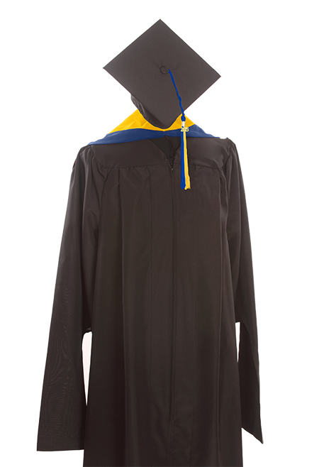 image of: Master Keeper Gown, Cap & Tassel