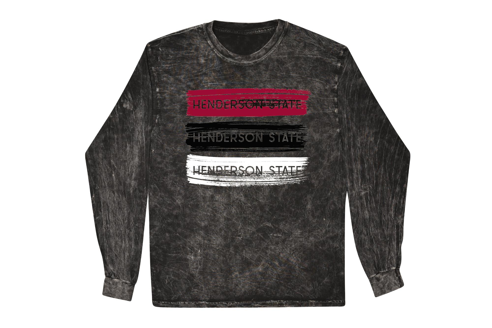 image of: Henderson State Mineral Wash Boyfriend Long Sleeve T-Shirt