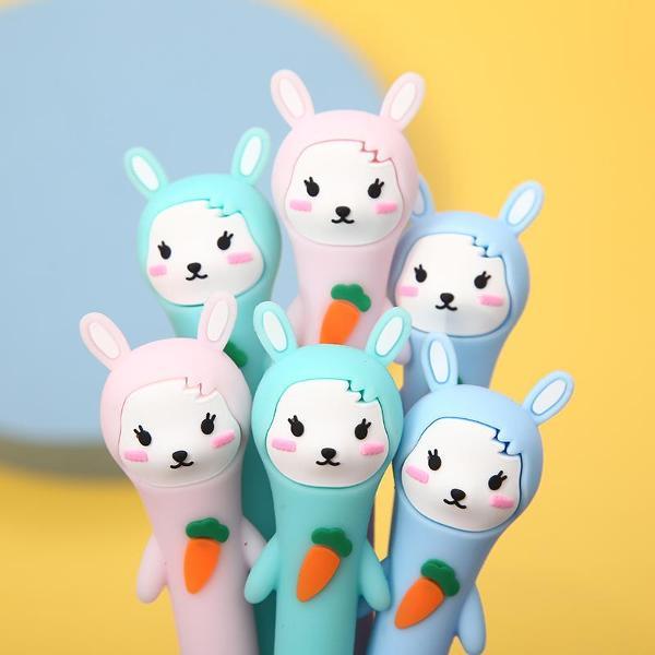 bcmini Rabbit Gel Pen Assorted