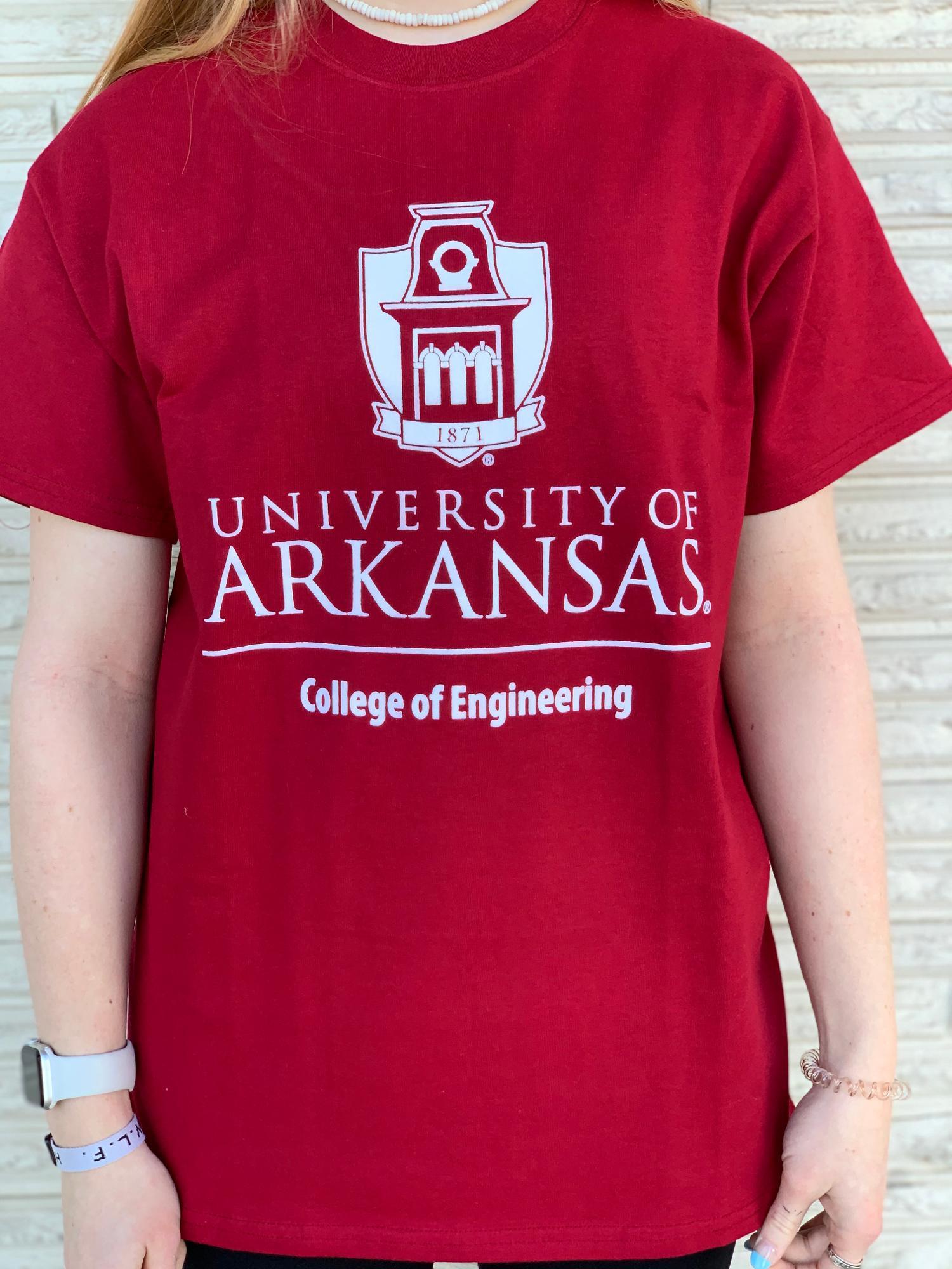 image of: University of Arkansas Tower College of Engineering - Crimson