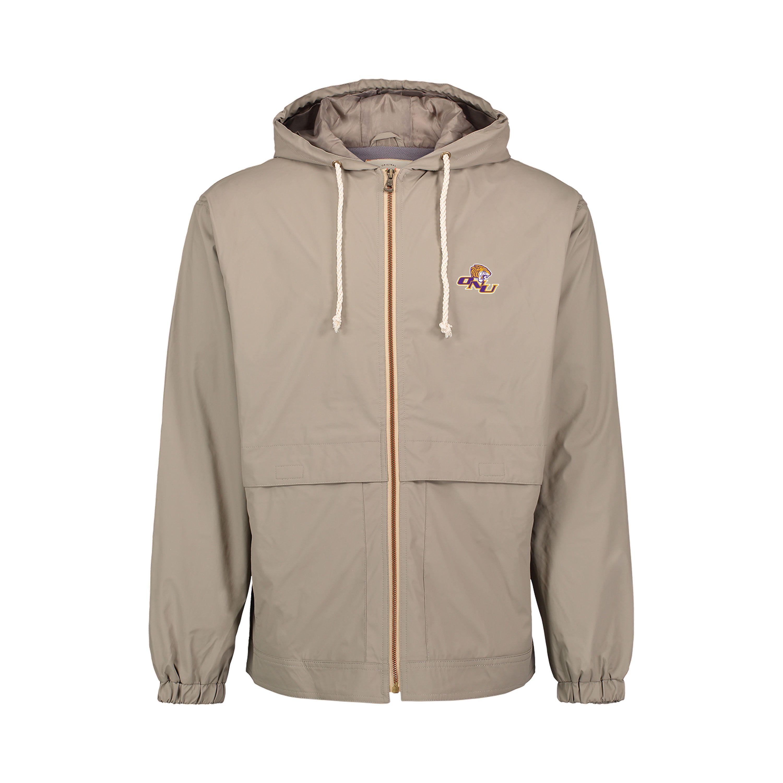 image of: Waterproof Vintage Hooded Rain Jacket