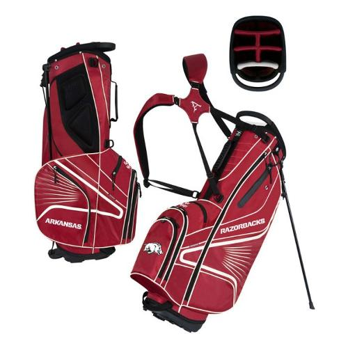 Arkansas Razorbacks Grid Iron III Stand Golf Bag