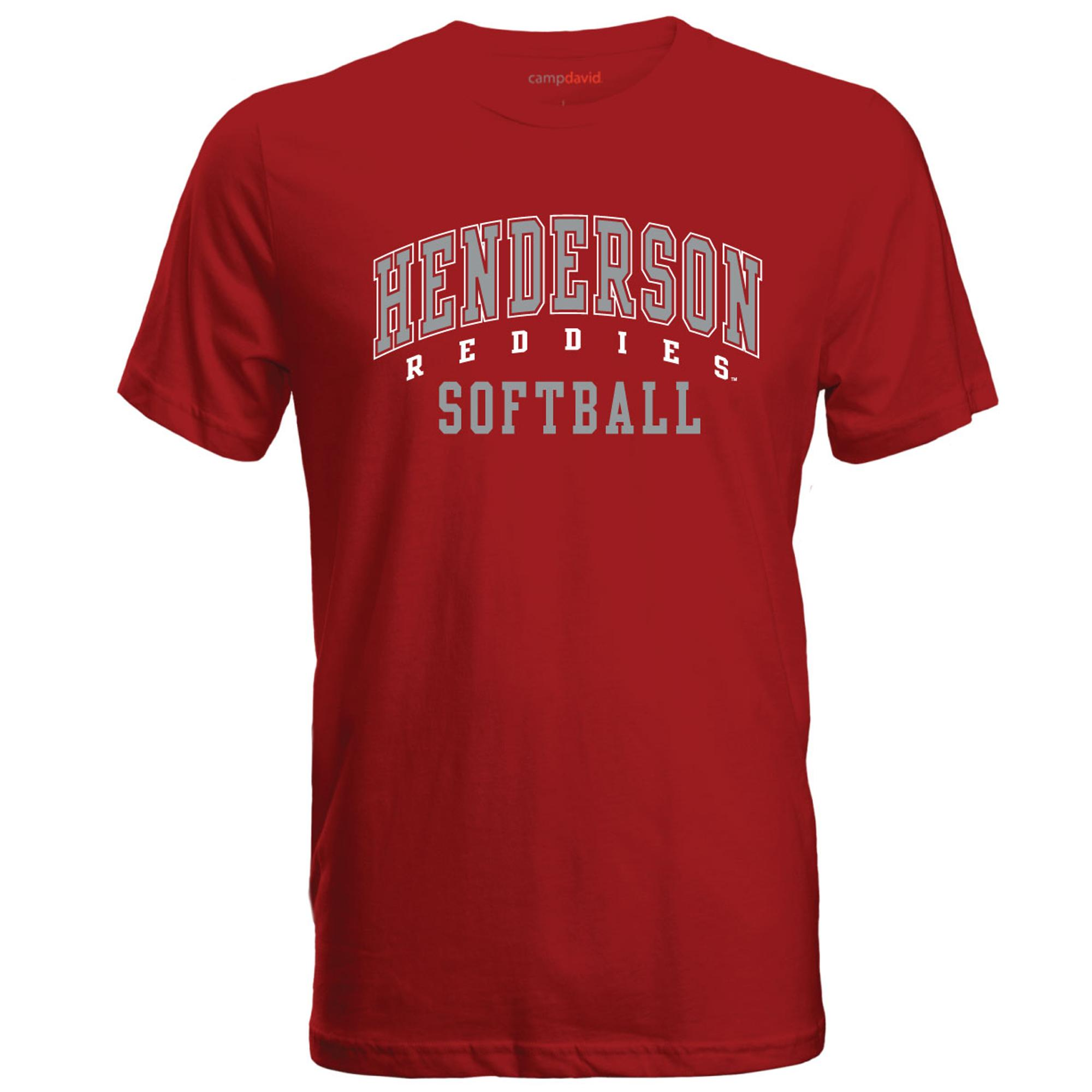 image of: Henderson Reddies Softball Cruiser Tee