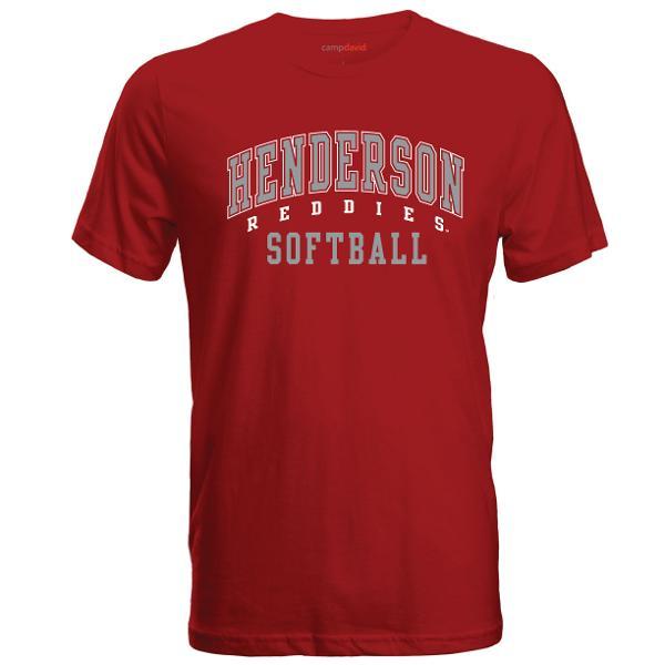 Henderson Reddies Softball Cruiser Tee