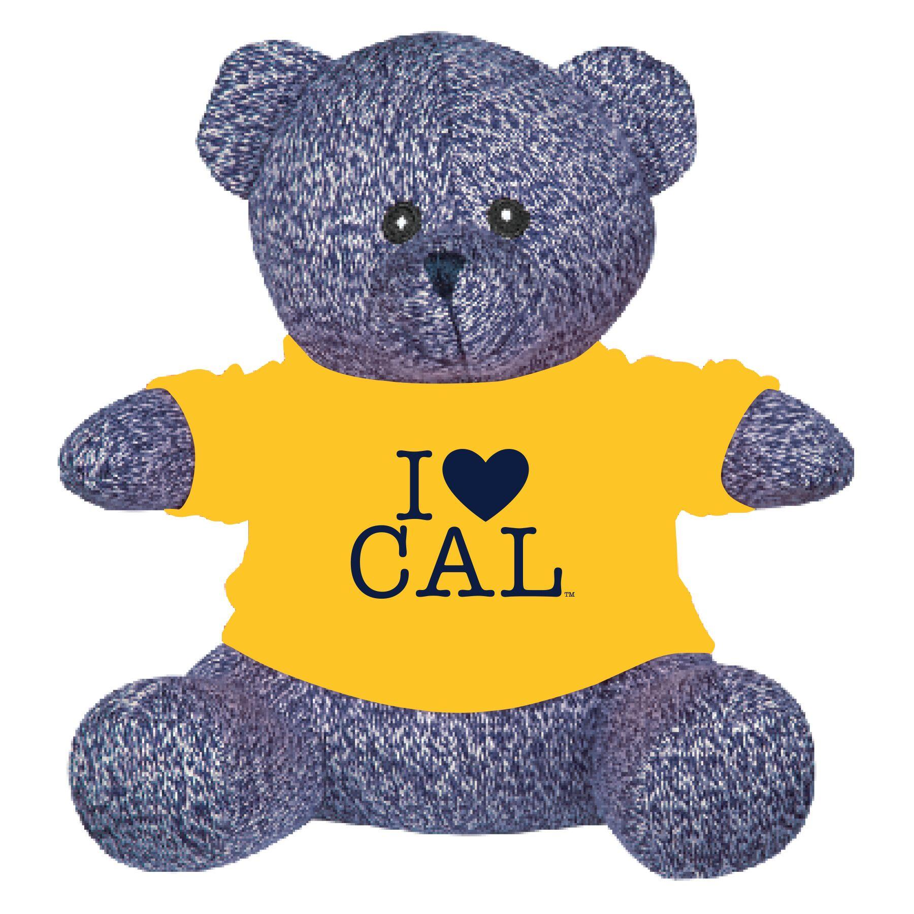 8.5 Palmer Bear Gold Tee I Heart Cal Gold Tee