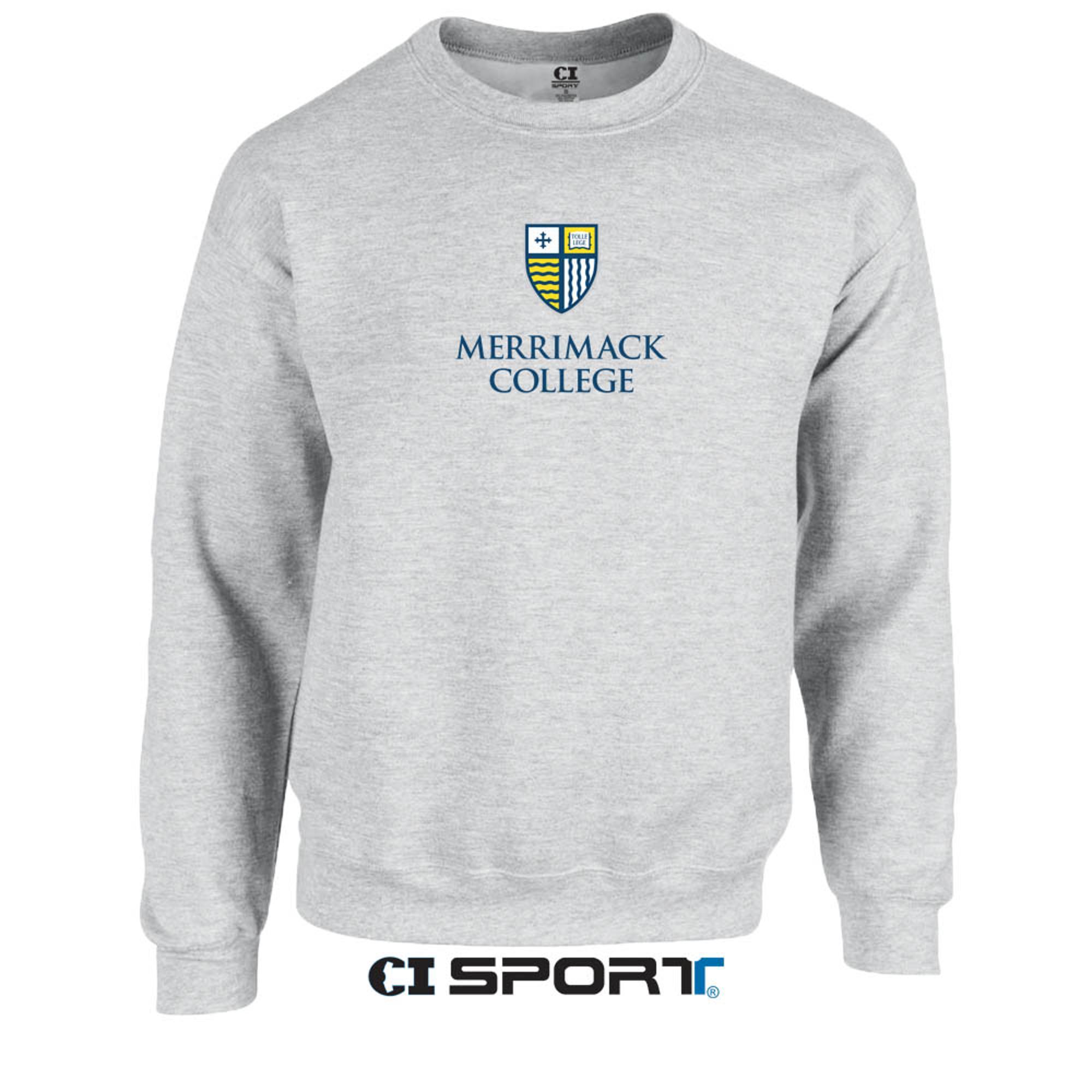 Image for CI Sport Ash Grey Crew Neck
