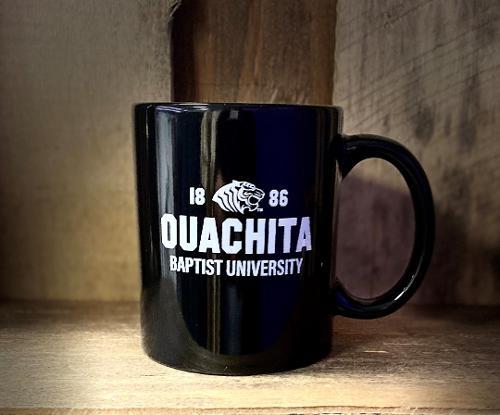 OUACHITA BAPTIST UNIVERSITY 1886 MUG