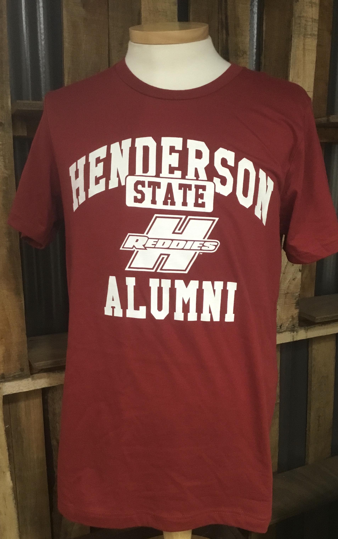 image of: Henderson State Reddies Alumni Short Sleeve T-Shirt