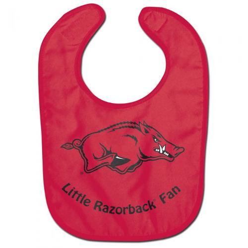 Arkansas Razorbacks Wincraft All Pro Baby Bib - Crimson