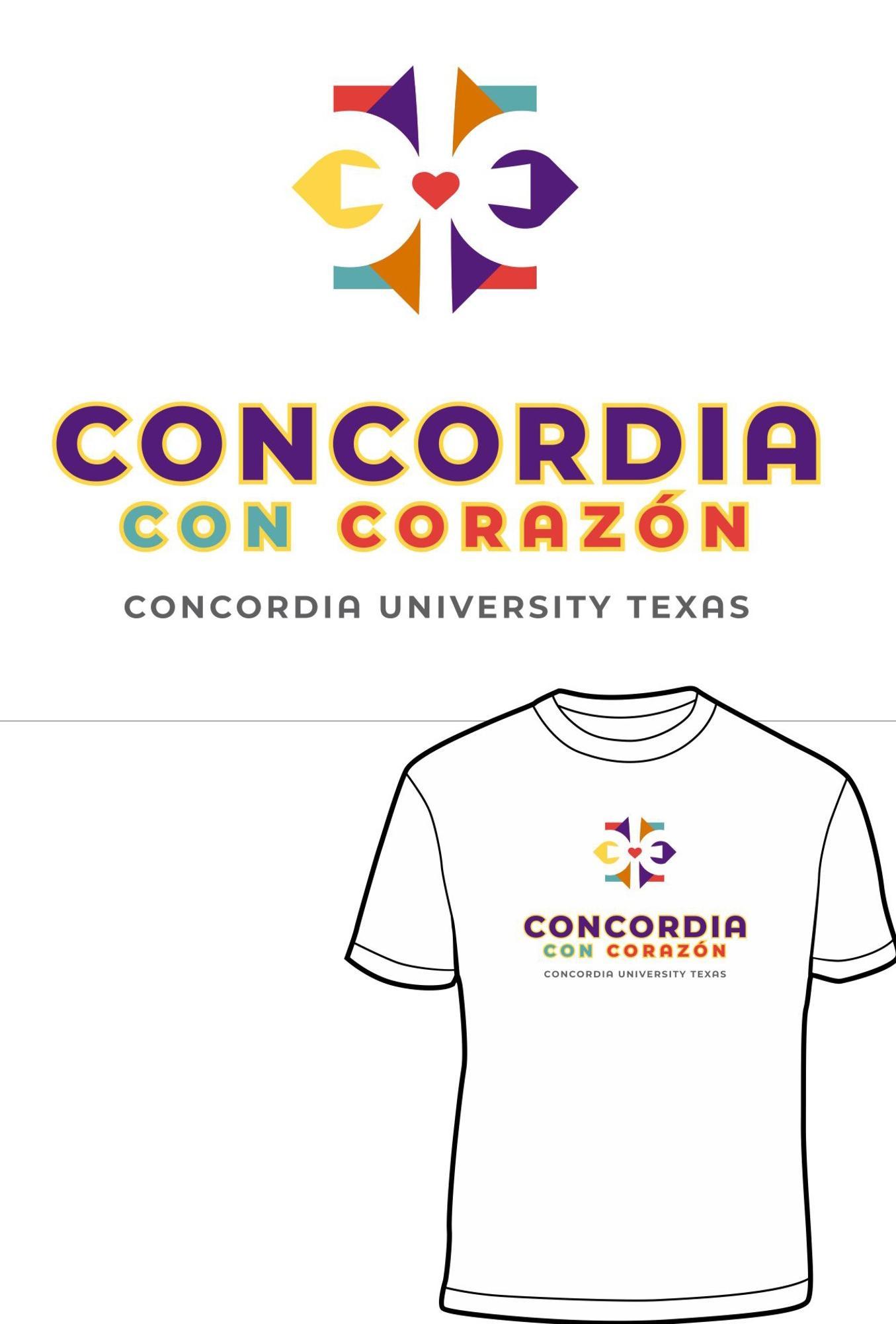 Image for Concordia Con Corazon Tee
