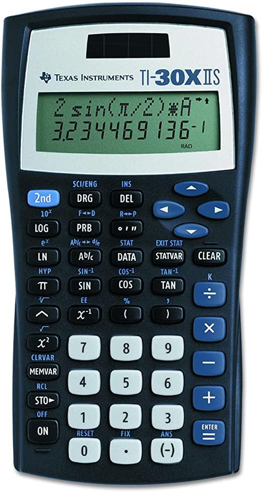 TI-30X IIS 033317198726