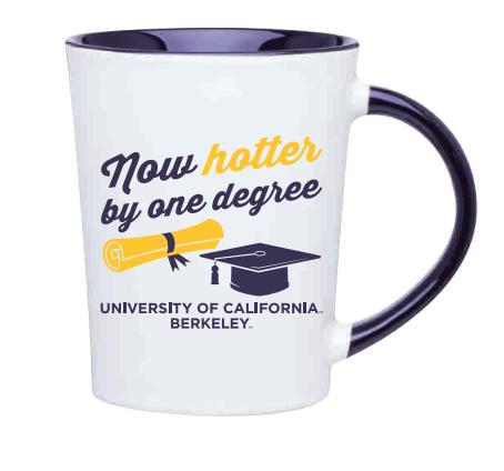 Mug 14oz Emma Now Hotter By One Degree UCB