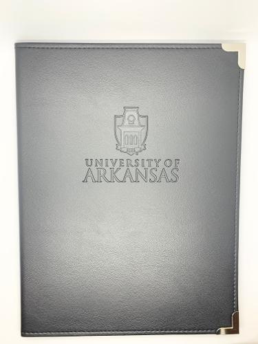 University of Arkansas Padfolio - Black