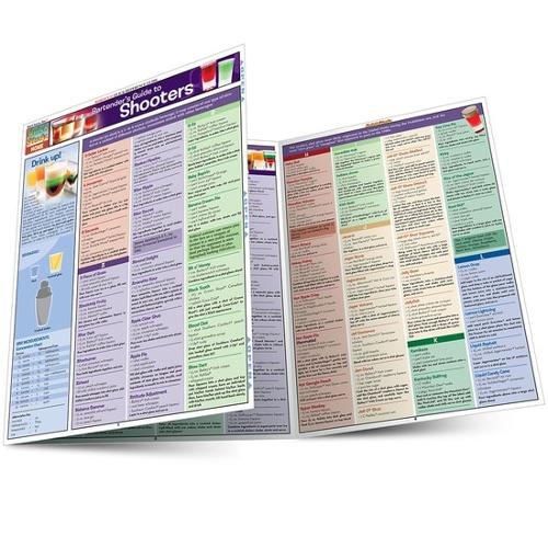 BARTENDER'S GUIDE TO SHOOTERS LAMINATED REFERENCE GUIDE