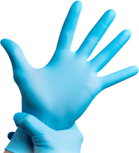 image of: Strax AVO+ Disposable Nitrile Gloves