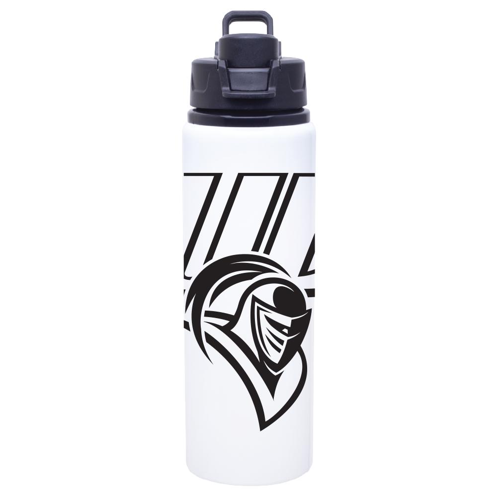 image of: Metal Water Bottle - White