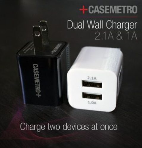 Dual USB Charge Cube