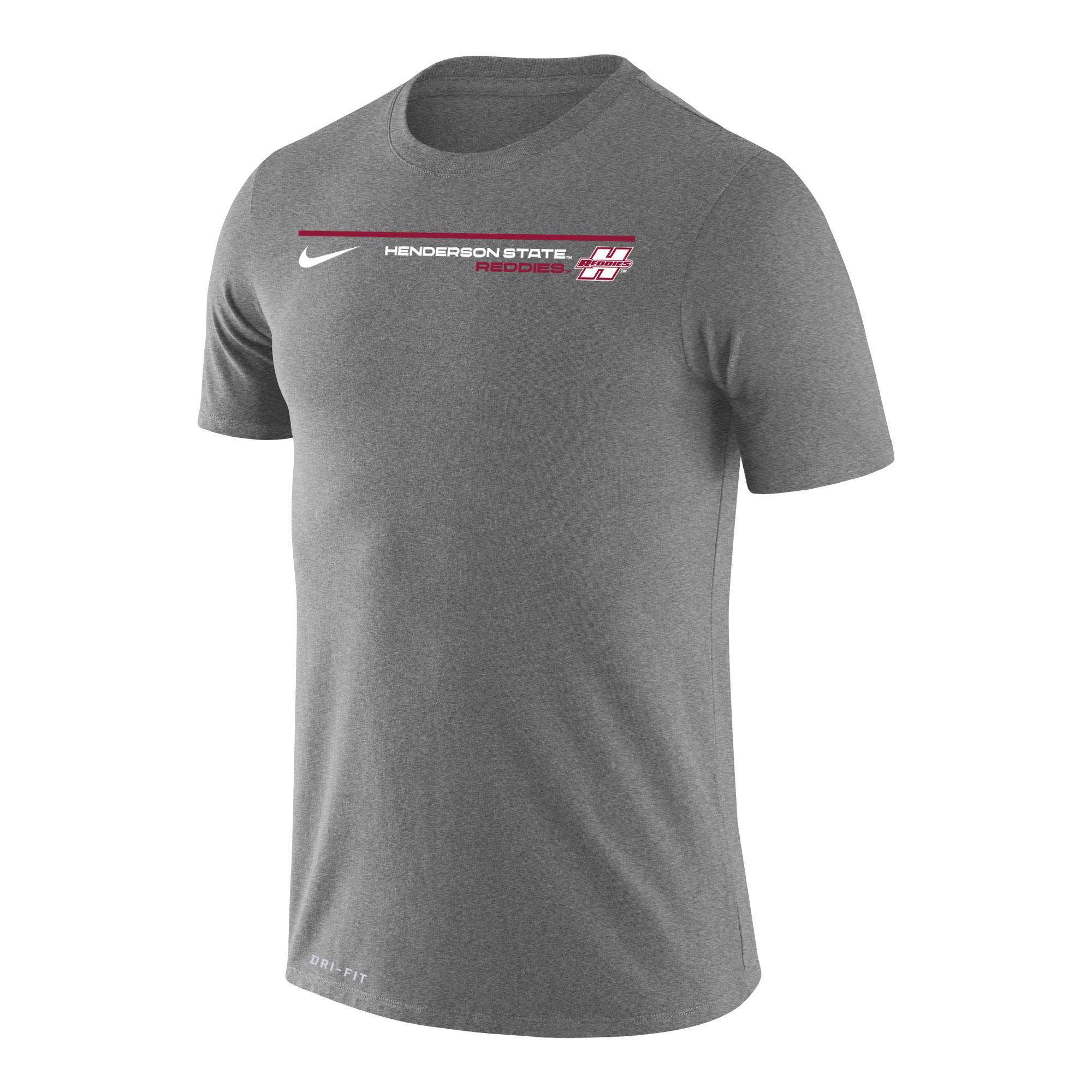 image of: Henderson State Reddies Dri-Fit Nike Legend Short Sleeve T-Shirt