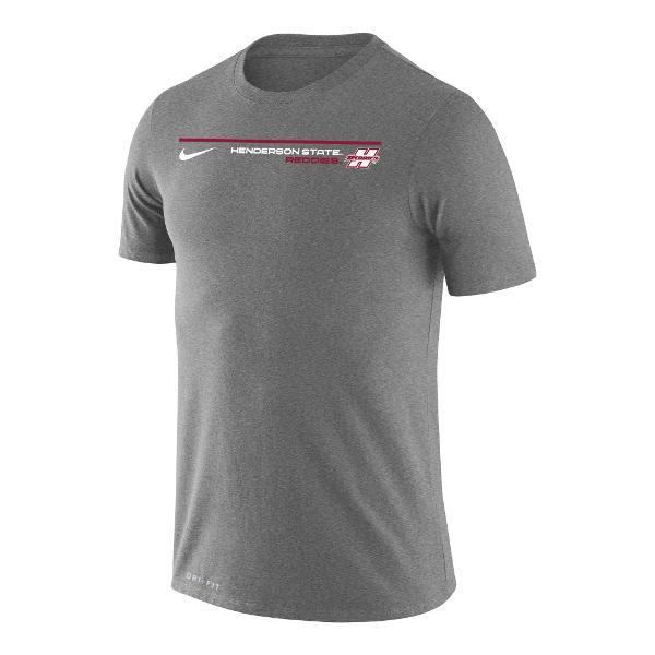 Henderson State Reddies Dri-Fit Nike Legend Short Sleeve T-Shirt